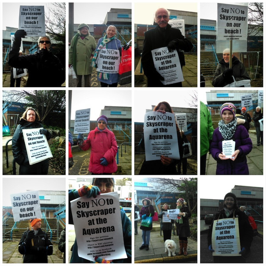 These people all say NO to Roffey's skyscraper on the beach!