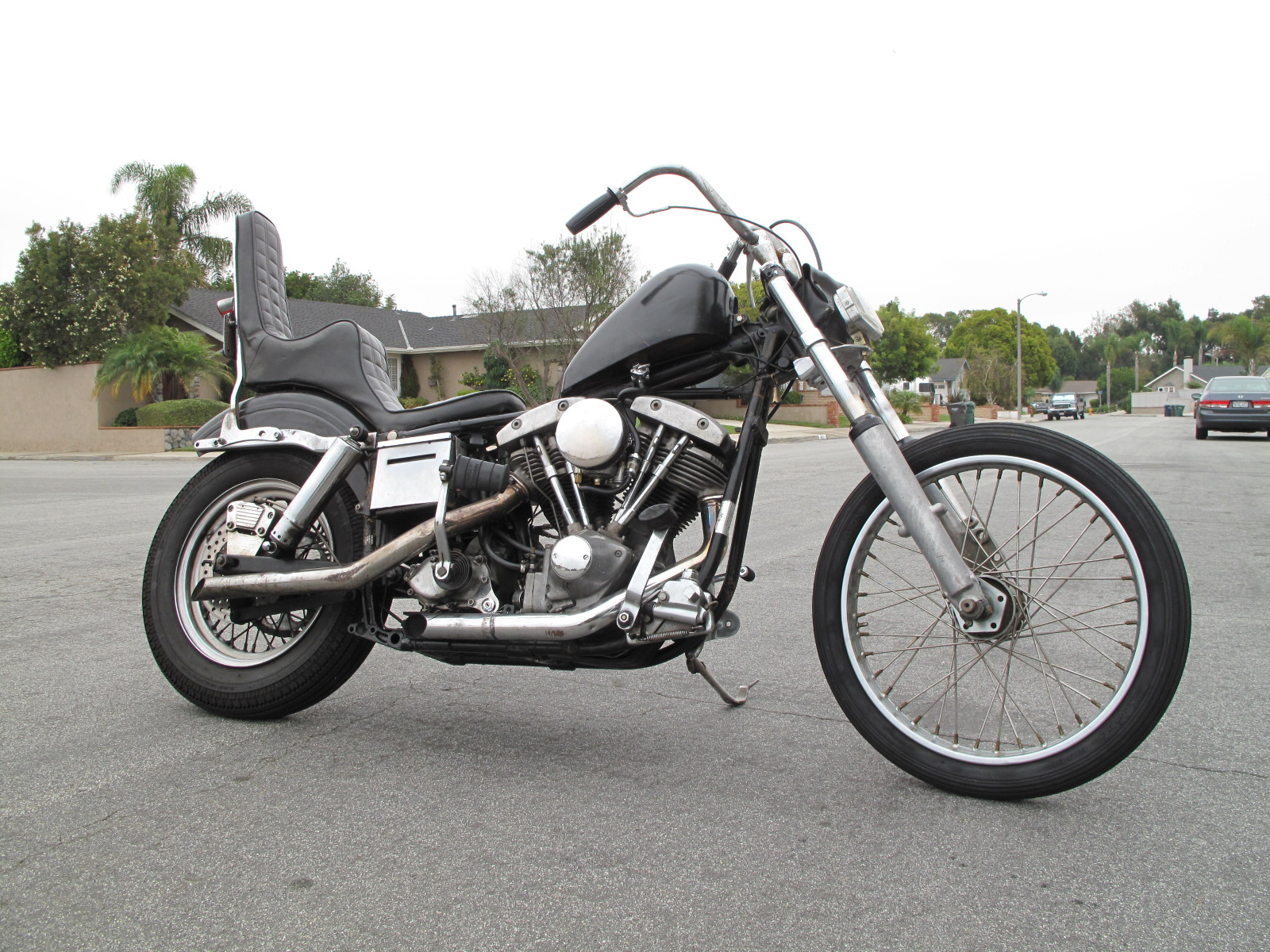 cycle zombies blog: 76 Shovelhead Chopper For Sale