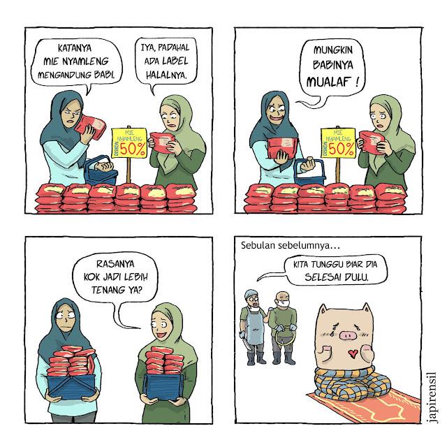 mie instan halal