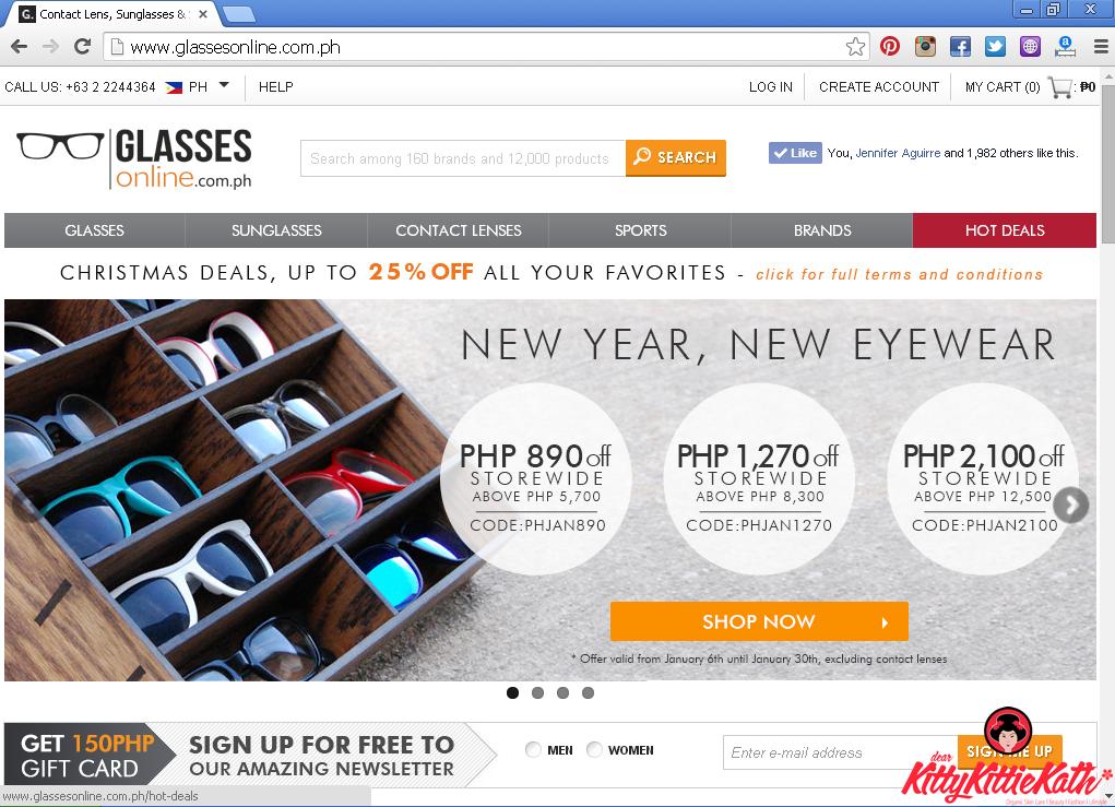 ef857c42de7 Ray-Ban Wayfarer Love from Glasses Online Philippines