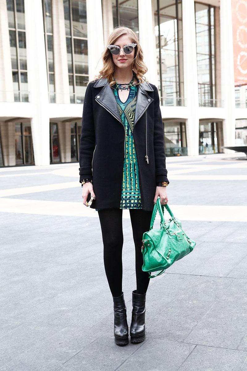 New York Fashion Week- Street Style - Women's corner