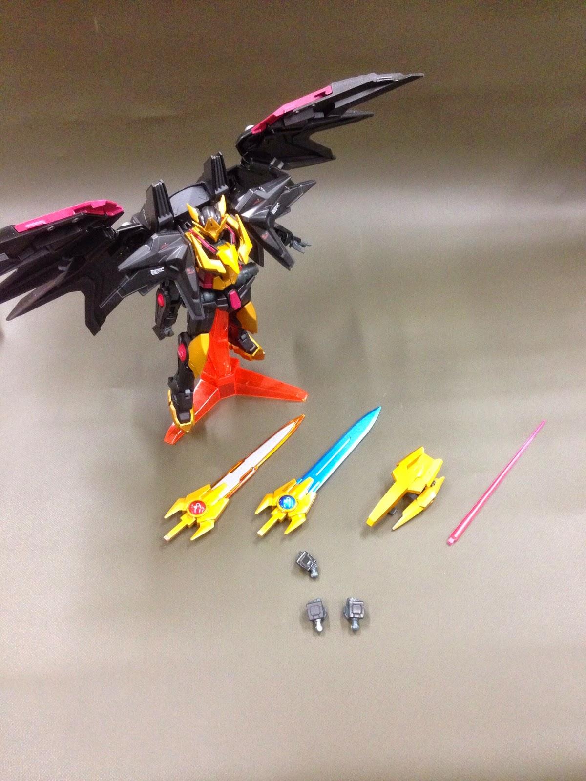 GUNDAM GUY: 1/144 Gundam Exia Dark Matter Phantom - Custom ...