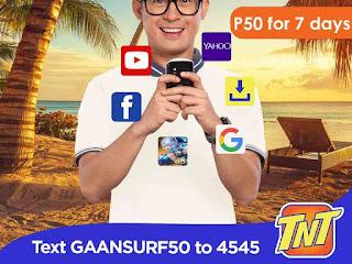 Talk N Text GAANSURF50