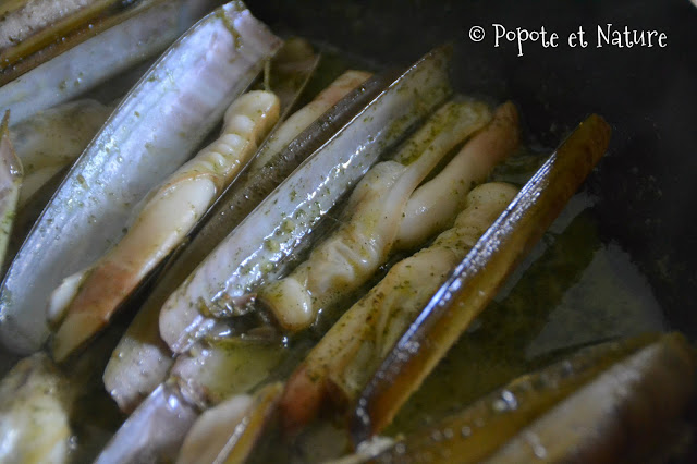 Couteaux à l'ail et au persil ©Popote et Nature