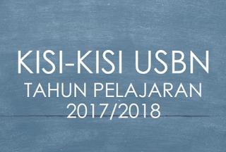 KISI-KISI USBN 2018