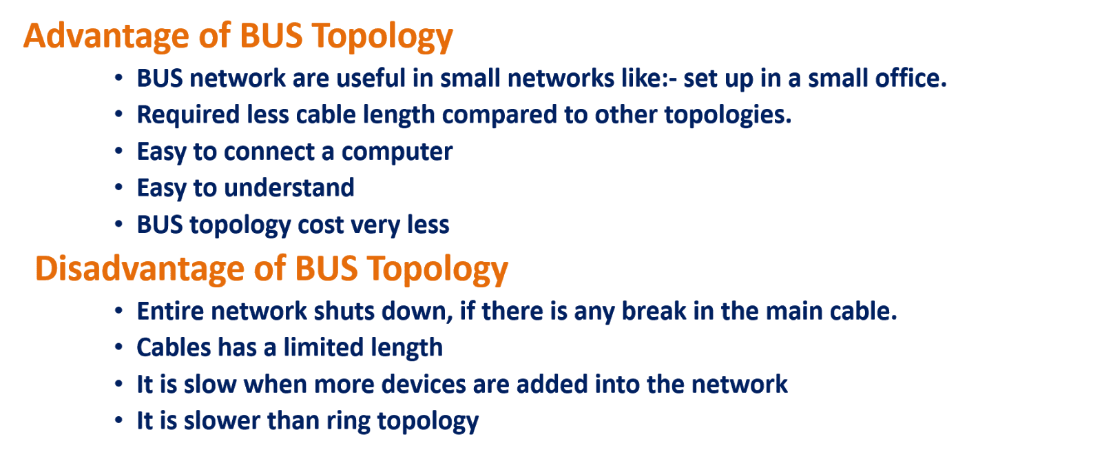 comparison between ring star mesh bus topologies Topology | types of topology - define topology | bus - star - ring - mesh  a combination of two or more different topologies makes for a hybrid topology.