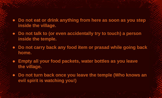 balaji temple do's and dont's