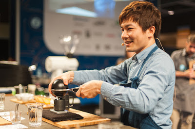 Berg Wu  The Winner World Barista Championship 2016
