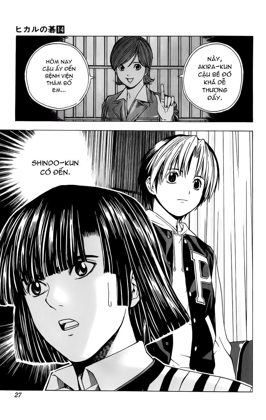 Hikaru No Go hikaru no go chap 114 trang 22