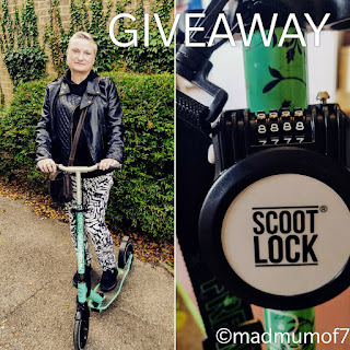 Scoot Lock Giveaway