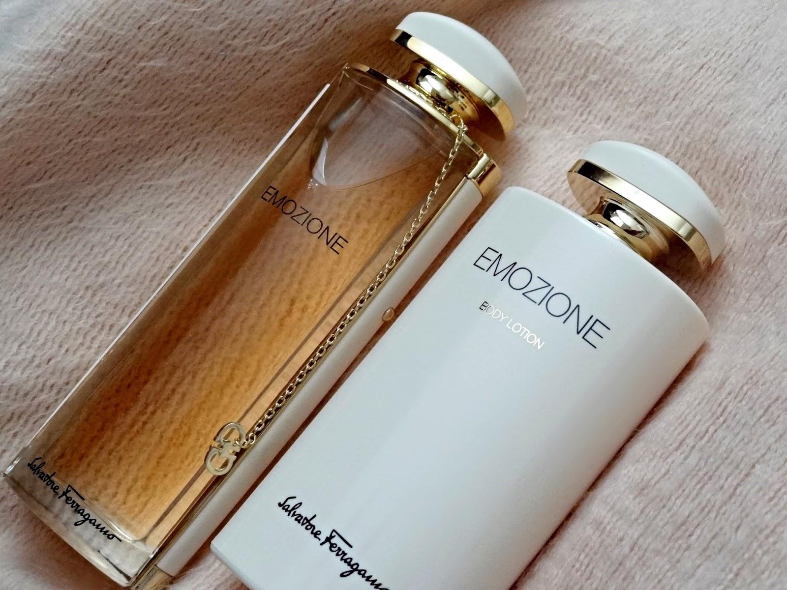 Salvatore Ferragamo Emozione Eau de Parfum and Body Lotion
