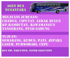 daftar alamat agen bus nusantara