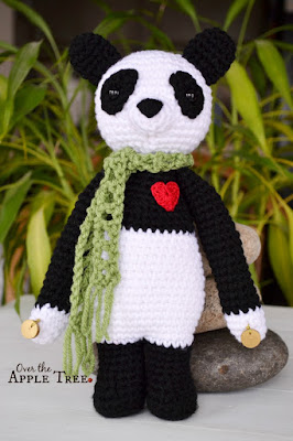 Lucky Prosperity Panda by Over The Apple Tree