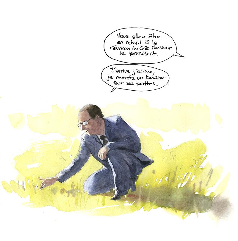 François Hollande et l'écologie profonde