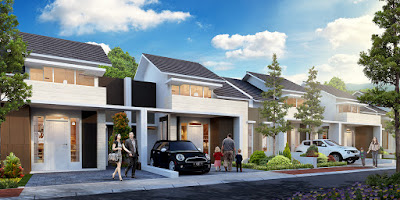 Model Rumah ORCHID 2, 45/120 dan ORCHID 2A, 45/136 Citra Indah City