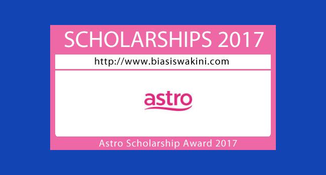 Astro Scholarship Award 2017
