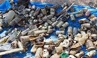 Κορινθία: Ανέλκυσαν 49 κιλά ανθρώπινης ρύπανσης από τον βυθό της Λίμνης Βουλιαγμένης (φώτο)
