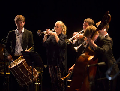 Alison Balsom at the Bristol Proms - photo Jon Rowley