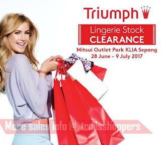 Triumph Lingerie Stock Clearance 2017