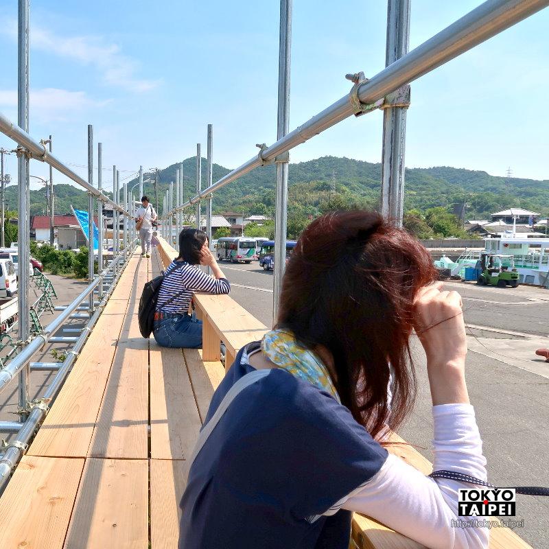 【豐島家浦港】悠閒夏日午後 在港邊高台望海發呆