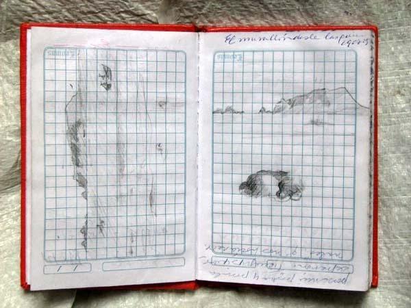 Dibujos En Libretas Ii: Último Cuadro Y Libreta De Notas Y Dibujos.