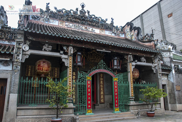 Visiting Thien Hau Pagoda in China Town
