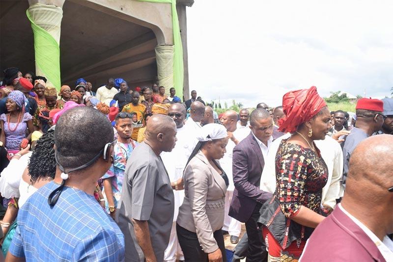 Photos: Governor Willie Obiano and his family visit FCET Umunze