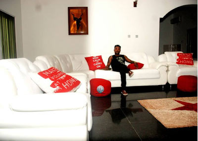 Oritsefemi moves into mansion in Lekki
