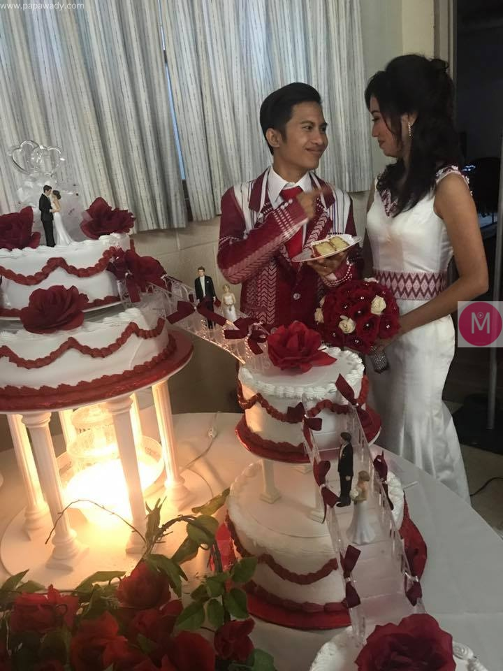 Singer Kaung Kaung and Ni Lar Htoo Wedding Pictures