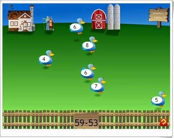 http://juegoseducativosonlinegratis.blogspot.com/2013/03/la-granja-matematica.html