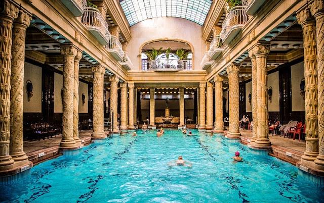 Banhos termais Géllert, Budapeste