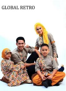 Model Pakaian Keluarga Muslim Modern Masa Kini
