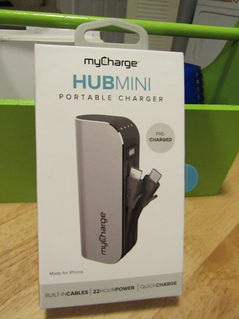 MyCharge HubMini Portable Charger #Giveaway