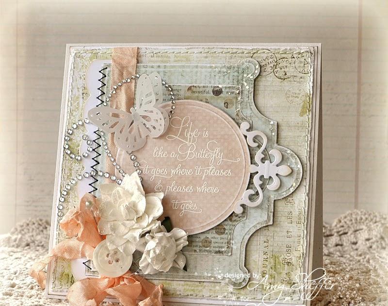 jodie lee designs butterfly garden cards