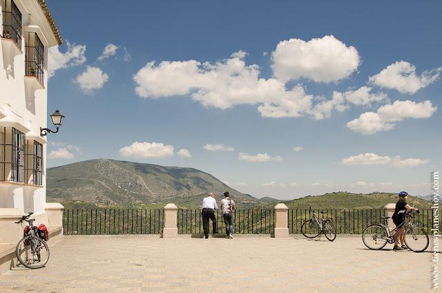 Zahara de la Sierra Grazalema Andalucia