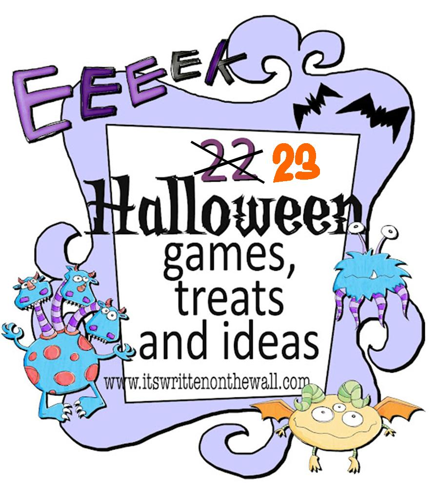 It's Written on the Wall: 33 Fun Halloween Games, Treats and Ideas ...