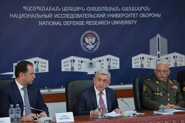 Sargsyan: Azerbaiyán pagará por cada pérdida militar