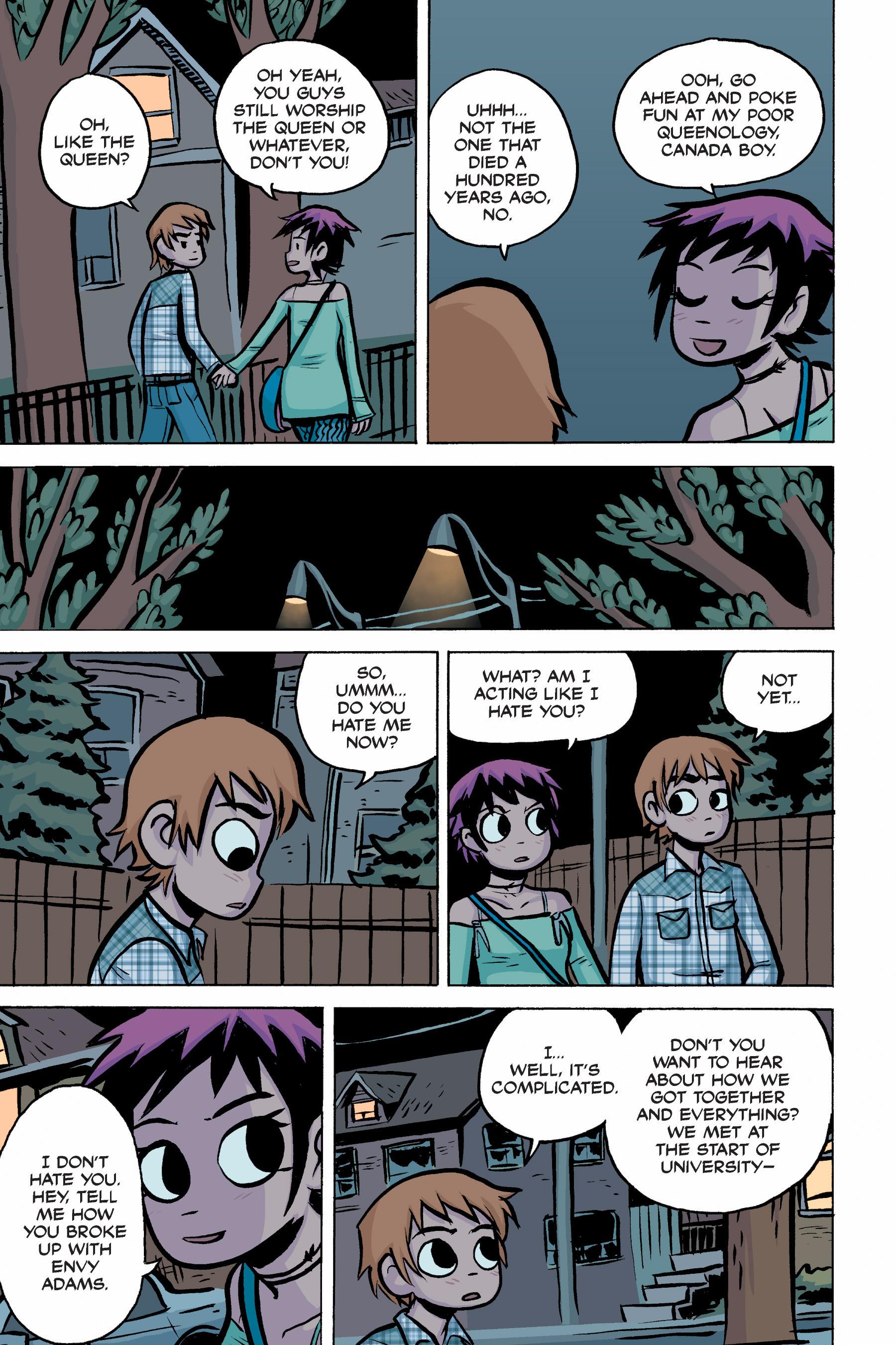 Read online Scott Pilgrim comic -  Issue #2 - 165