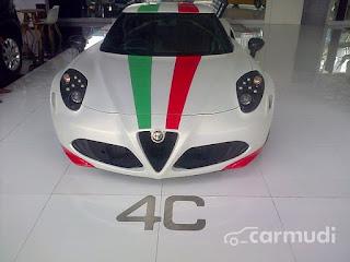 Forsale 2014 ALFA ROMEO 4C - JAKARTA