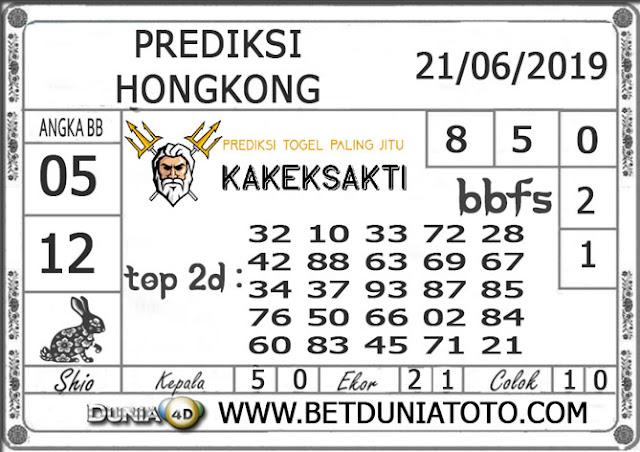 Prediksi Togel HONGKONG DUNIA4D 21 JUNI 2019