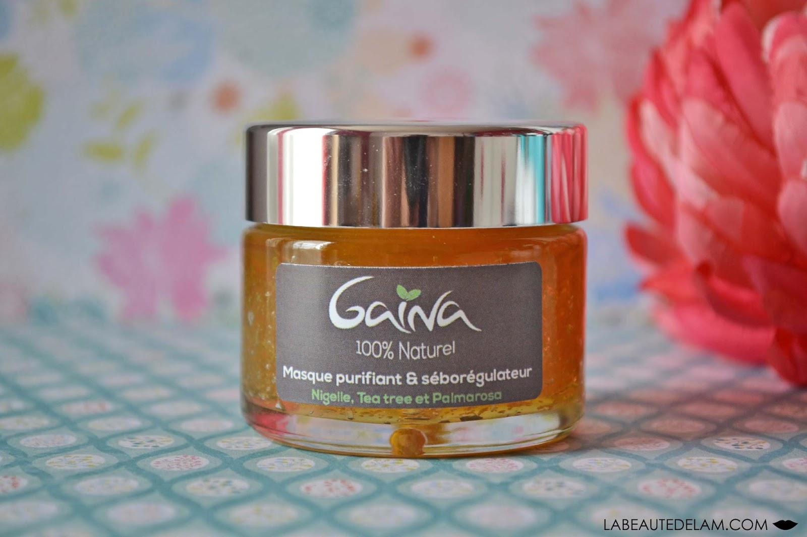 La Beauté de Lâm - Blog beauté bien-être culture et gourmandise: Gaïna - Masque  purifiant & séborégulateur : une texture inédite pour un résultat étonnantLa Beauté de Lâm