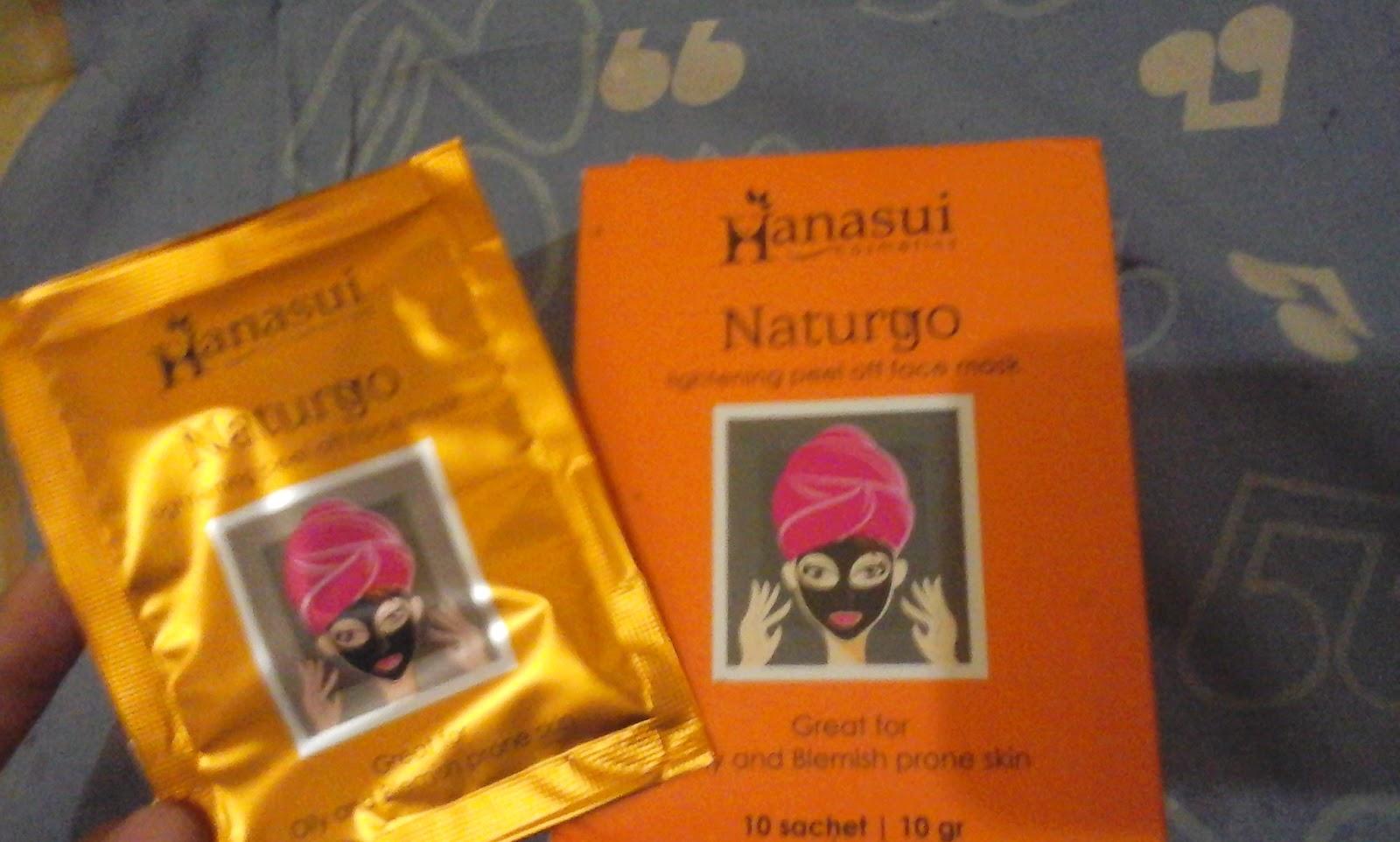 Warna Warni Pelangi Review Masker Naturgo Hanasui Hanasuiii