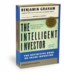 "Picture of the book ""The Intelligent Investor"" by Benjamin Graham"