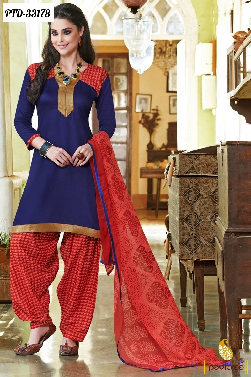 Online shopping of patiala suits