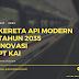 Kereta Api Modern Tahun 2035, Sebuah Kemajuan Transportasi Indonesia di Masa Depan
