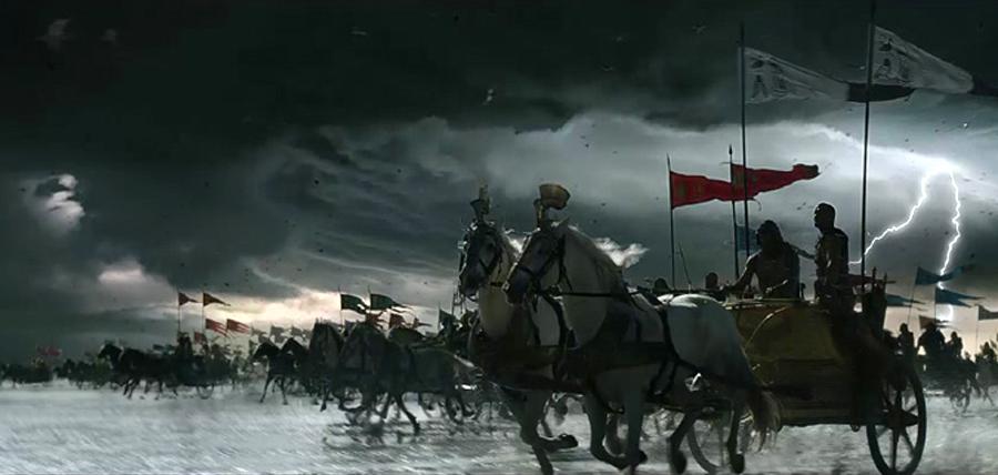 Efecte vizuale şi cadre fantastice în filmul Exodus: Gods and Kings