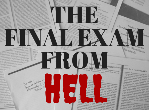 The Final Exam from Hell – Welcome to Germerica