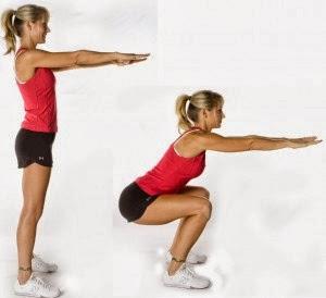 Клек - Тренировка за жени в домашни условия