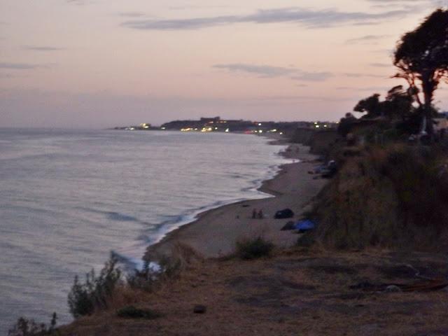 Wieczorna wersja plaży