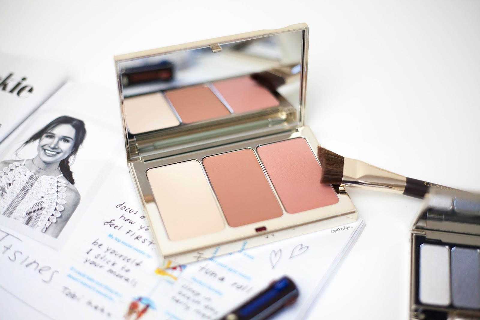 Clarins Spring Make Up Face Contouring Palette